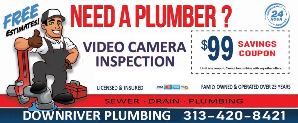 Downriver Plumbing, LLC Coupons
